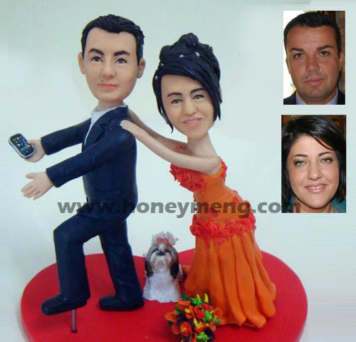 Fully Customized Cake Toppers Funny