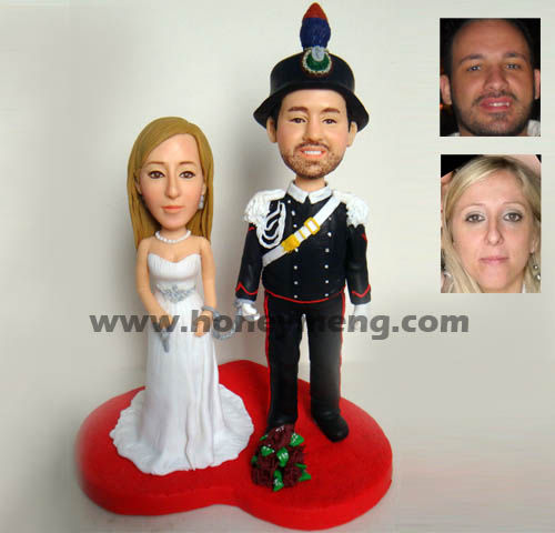 Fully Customized Cake Toppers Military