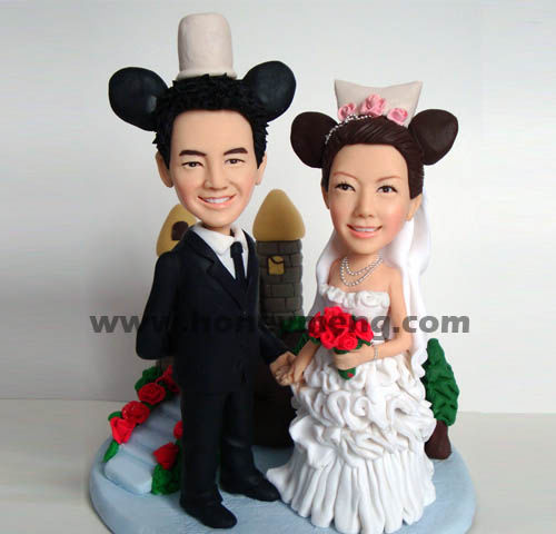 Fully Customized Cake Toppers Figurines