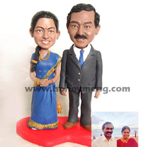 Fully Customized Cake Toppers Indian Wedding